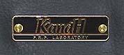 KandHの黒ネームプレート