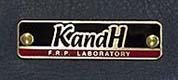 KandHの標準ネームプレート