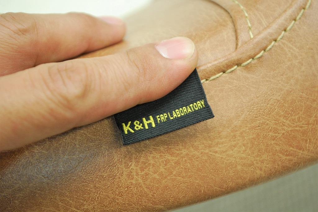 K&H-ピスネーム-ブラウンレザー