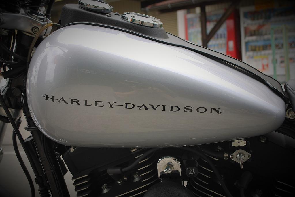 Harley-Davidson-DYNA-FXDX-タンク