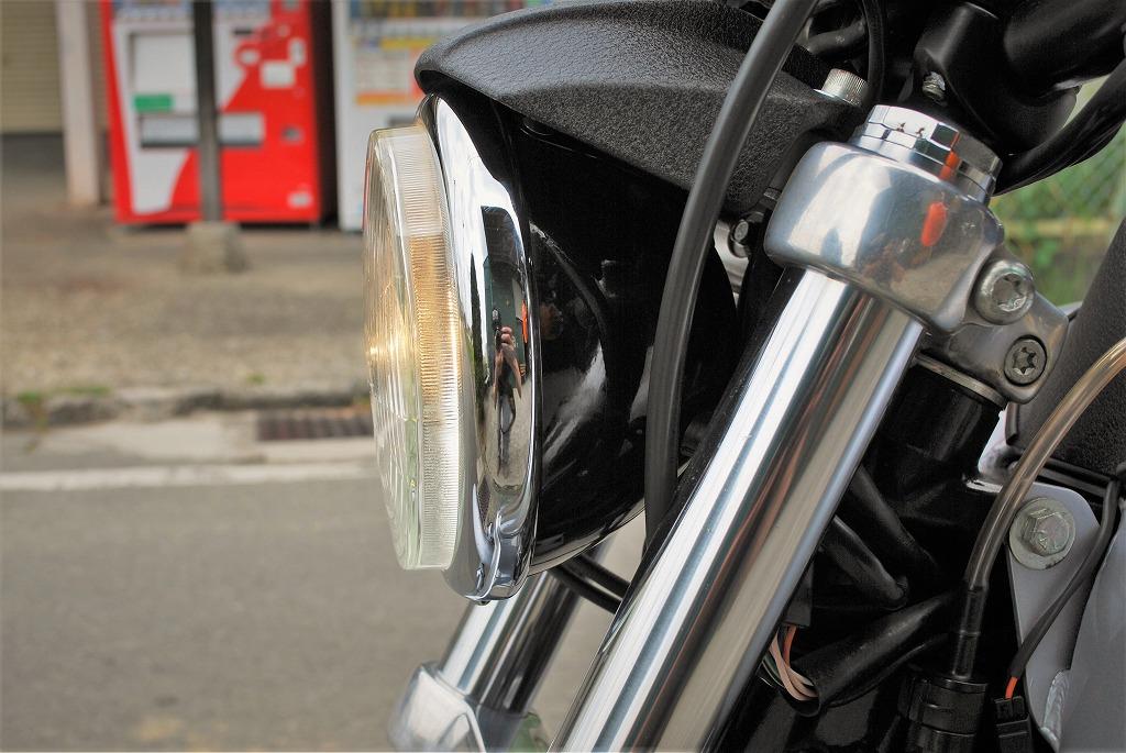 Harley-Davidson-DYNA-FXDX-ヘッドライト