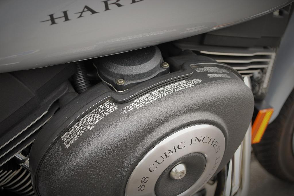 Harley-Davidson-DYNA-FXDX-純正エアクリーナーカバー