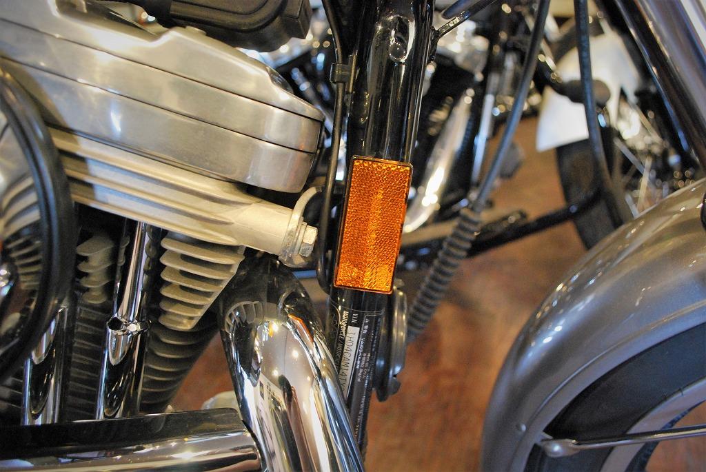 Harley-Davidson-sportster-リフレクター