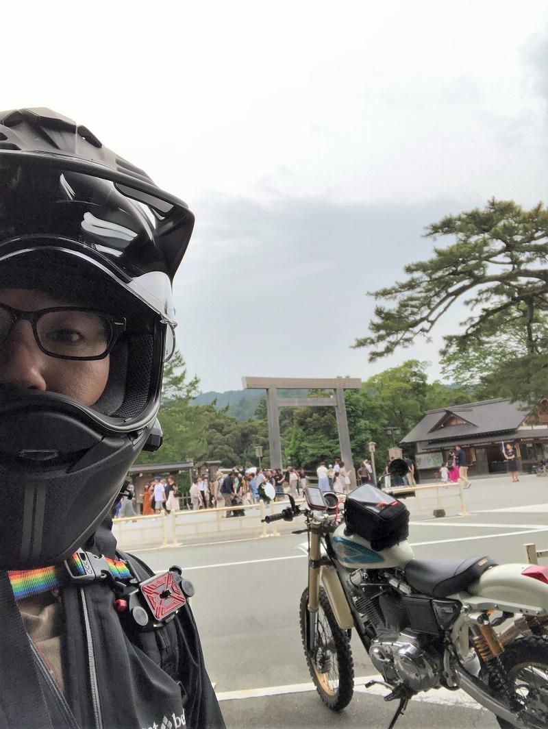 バイク伊勢神宮-スポーツスター