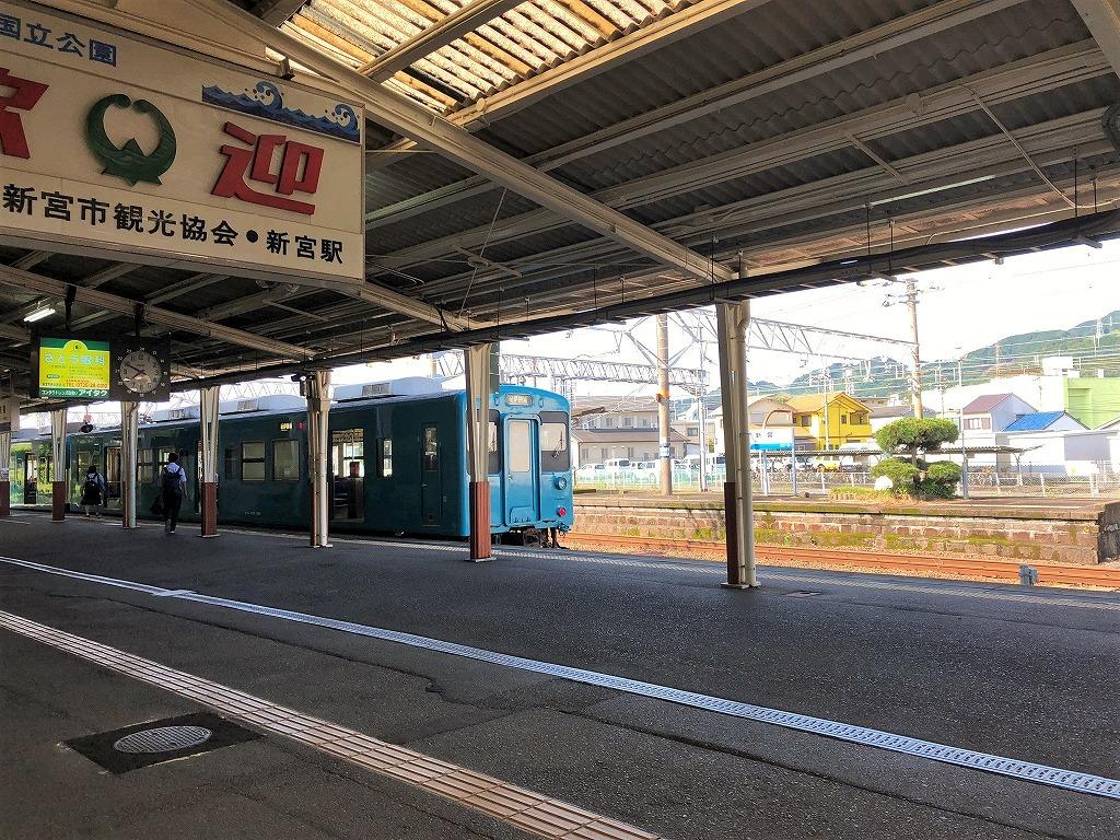 新宮駅列車