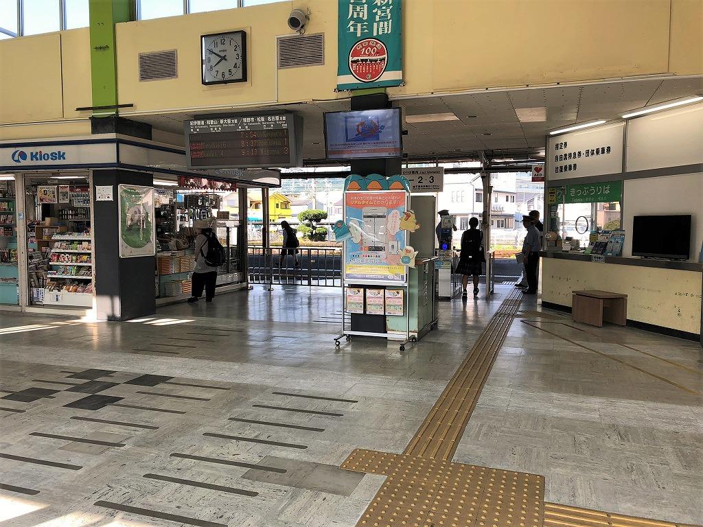 新宮駅改札