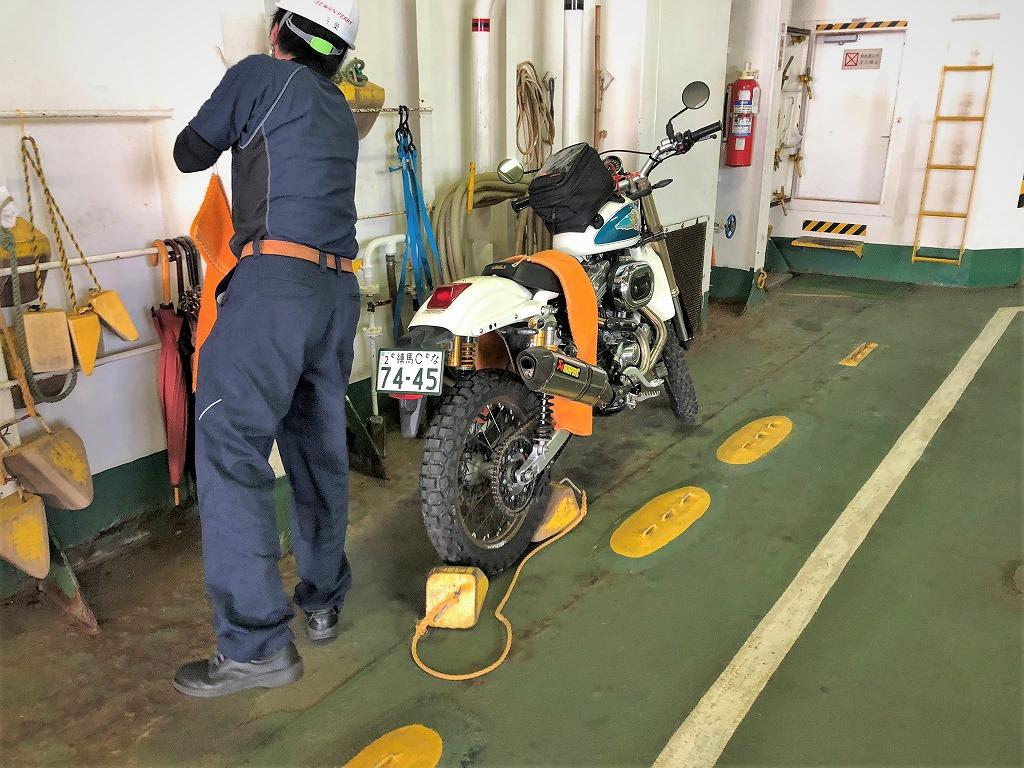 伊勢湾フェリー-バイク-スポーツスター