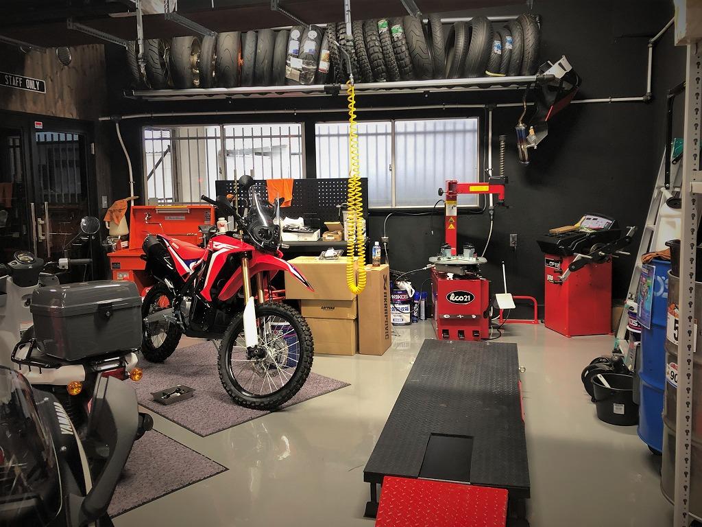 balz store motorcycleでCRF250L
