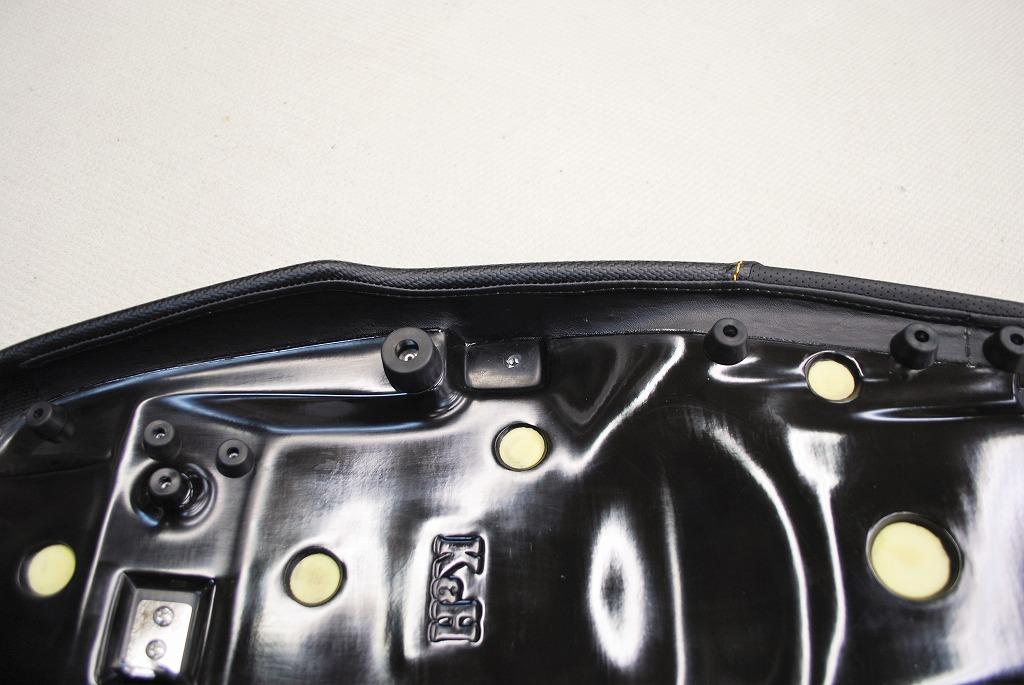 xsr900k&hハイシートのシートベースのサイド見返し