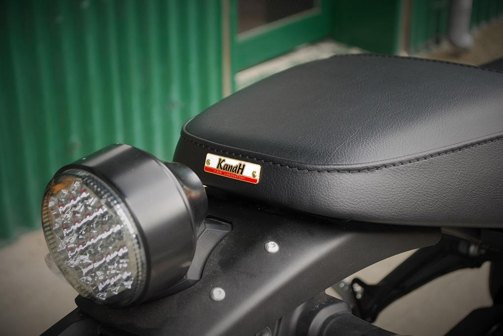 xsr900ハイシートK&Hネームタグのオーセンティック