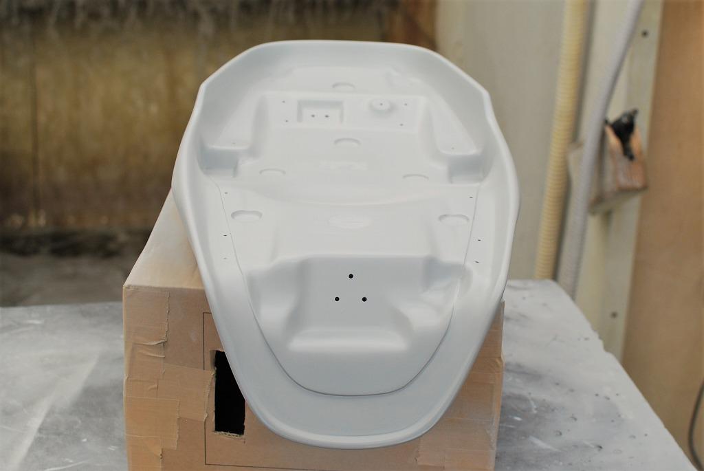 xsr900ハイシートのシートベース側完成3
