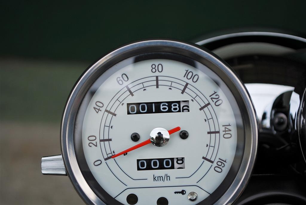 2019年SR400 FIの40周年記念車 yamaha 40th anniversary edition スピードメーター